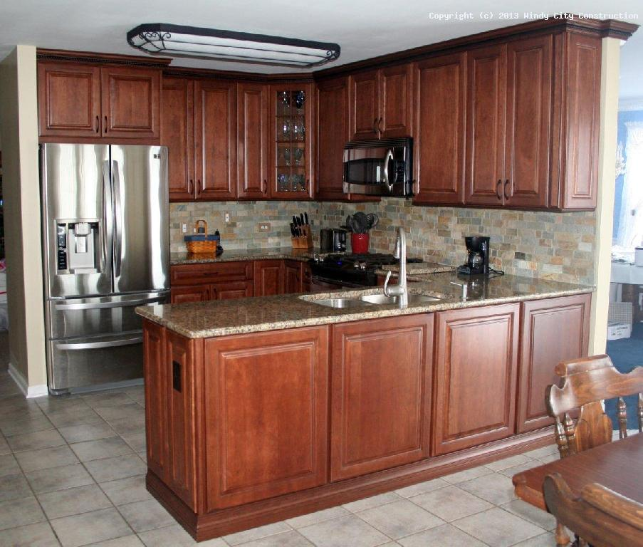 Kitchen remodel nathan d young construction inc kitchen for Small kitchen renovations